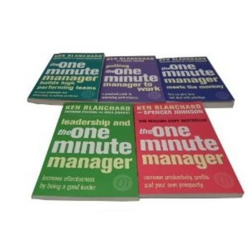 9781780810140: The One Minute Manager Series Collection: Leadership and the One Minute Manager , The One Minute Manager Builds High Performing Teams , Putting the ... One Minute Manager Meets the Monkey,The One