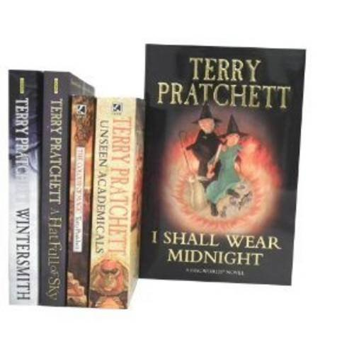 9781780810287: Terry Pratchett Series Collection Gift Set: I Shall Wear Midnight [hardcover], Unseen Academicals: a Discworld Novel, the Colour of Magic: a Discworld ... Full of Sky & Wintersmith: Discworld Novel