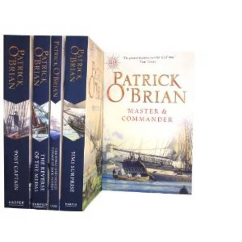 9781780810423: Patrick O'Brian Collection Gift Set: Final, Unfinished Voyage of Jack Aubrey, Hms Surprise, Master and Commander, the Reverse of the Medal & Post Captain