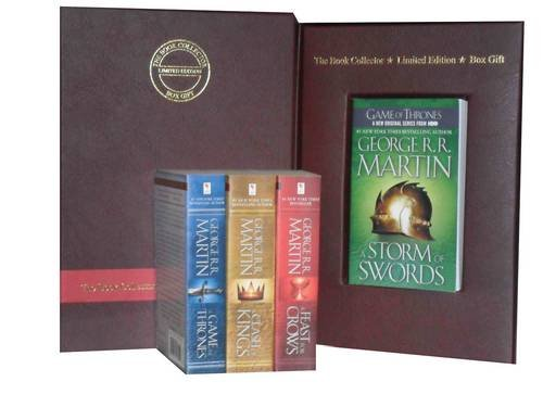 9781780811109: George R. R. Martin a Song of Ice and Fire Collection: Feast for Crows, a Storm of Swords: Steel and Snow: Part 1 of, a Clash of Kings & a Game of Thrones