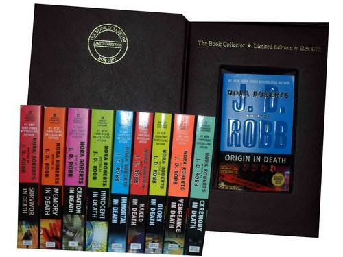 9781780812281: J. D. Robb, Nora Roberts Death Series Collection: Origin in Death, Ceremony in Death, Vengeance in Death, Glory in Death, Naked in Death, Immortal In Death, Innocent In Death, Creation