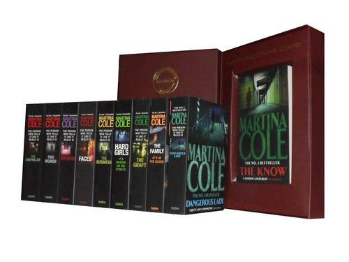 9781780812977: Martina Cole Collection: Hard Girls, the Business, Face, Broken, Two Women, the Ladykiller, the Graft, the Family, Dangerous Lady & the Know