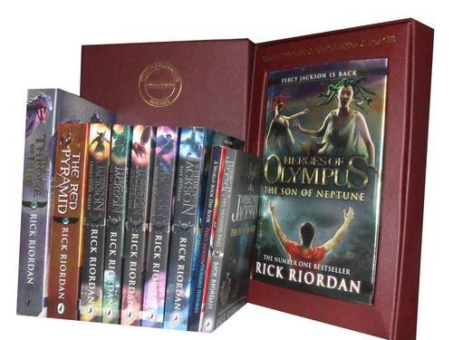 9781780813356: Rick Riordan Percy Jackson Collection: Sword of Hades, Lightning Thief, Last Olympian, Titan's Curse, Sea of Monsters, Battle of the Labyrinth, the Red Pyramid, the Throne of Fire