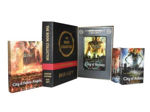 9781780815848: Cassandra Clare, Mortal Instruments Collection: City of Bones, City of Ashes, City of Glass & City of Fallen Angels