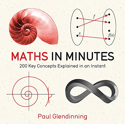 9781780873695: Maths in Minutes: 200 Key Concepts Explained in an Instant