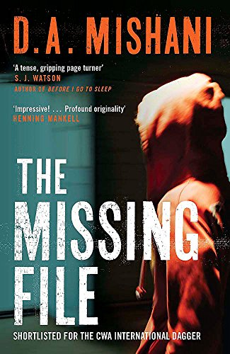 9781780876511: The Missing File: An Inspector Avraham Avraham Novel