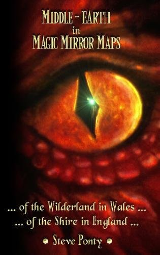 9781780885421: Middle-Earth in Magic Mirror Maps... of the Wilderland in Wales... of the Shire in England