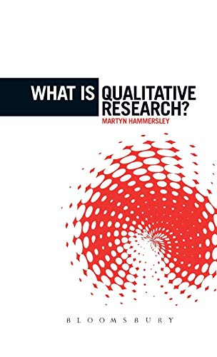9781780933351: What Is Qualitative Research? (The 'What is?' Research Methods Series)