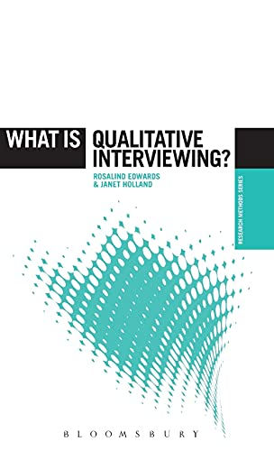 9781780938523: What is Qualitative Interviewing? (The 'What is?' Research Methods Series)