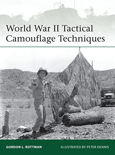 9781780962740: World War II Tactical Camouflage Techniques (Elite)
