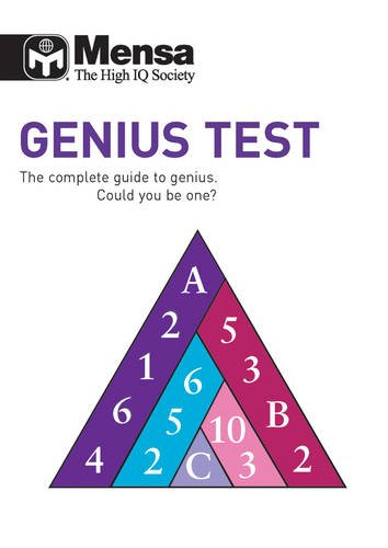 9781780970141: Mensa B: Genius Test: The Complete Guide to Genius, Could You be One?