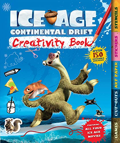 Ice Age Continental Drift Creativity Book: Carlton Books