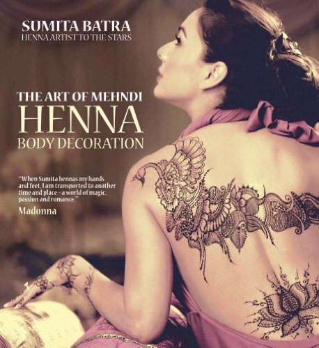 9781780973012: The Art of Mehndi: Henna Body Decoration