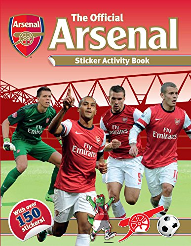 9781780973272: The Official Arsenal Sticker Activity Book