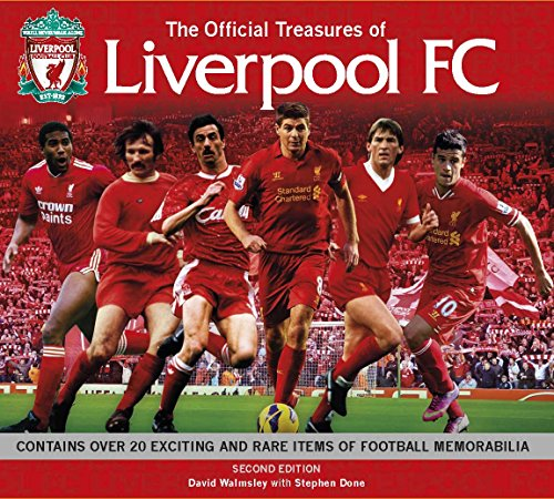 9781780973425: The Official Treasures of Liverpool FC