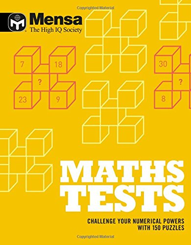 9781780975177: Maths Tests (Mensa)