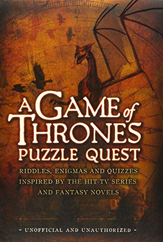 9781780975375: A Game of Thrones Puzzle Quest: Riddles, Enigmas and Quizzes