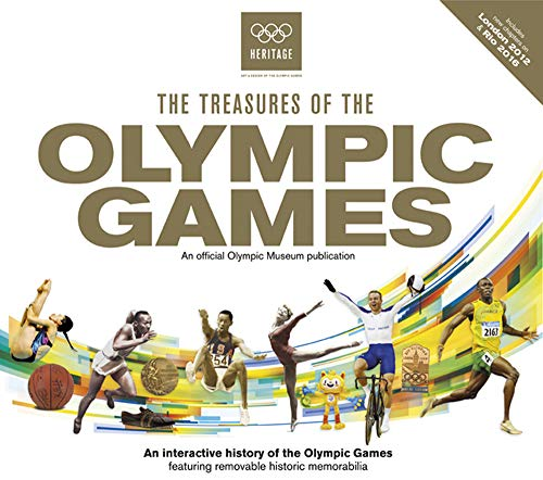 9781780977911: The Treasures of the Olympic Games: An Interactive History of the Olympic Games