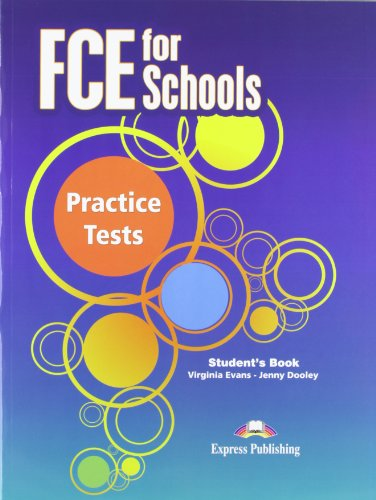 9781780984803: FCE for Schools Practice Tests: Student's Book (INTERNATIONAL)