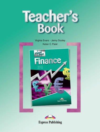 9781780986463: Career Paths - Finance: Teacher's Book (International)