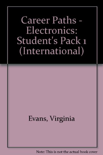 9781780987040: Career Paths - Electronics: Student's Pack 1 (International)