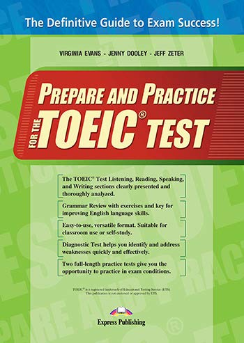 9781780989051: Prepare & Practice for the Toeic Tests: Student's Book (INTERNATIONAL)