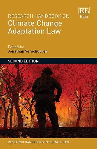 9781781000076: Research Handbook on Climate Change Adaptation Law (Research Handbooks in Environmental Law Series) (Elgar Original reference)