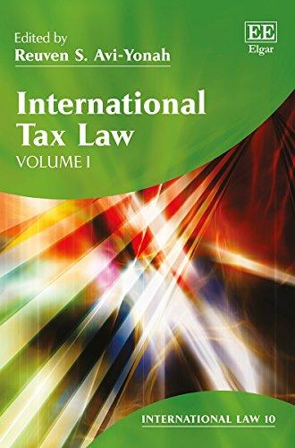 9781781003657: International Tax Law (International Law series, #10)