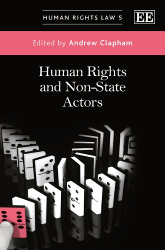 9781781004029: Human Rights and Non-State Actors (Human Rights Law series)