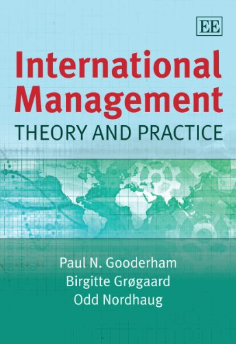 International Management: Theory and Practice: Birgitte Grà gaard,