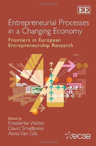 9781781004722: Entrepreneurial Processes in a Changing Economy: Frontiers in European Entrepreneurship Research (Frontiers in European Entrepreneurship series)