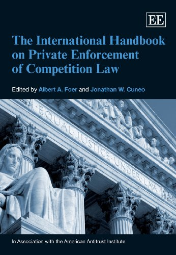 9781781005286: The International Handbook on Private Enforcement of Competition Law