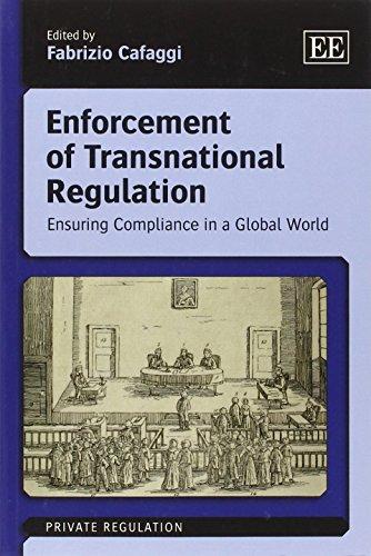 9781781005439: Enforcement of Transnational Regulation: Ensuring Compliance in a Global World (Private Regulation Series)