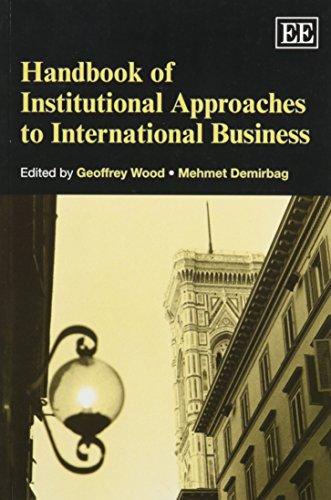 9781781005484: Handbook of Institutional Approaches to International Business (Elgar Original Reference) (Research Handbooks in Business and Management Series)
