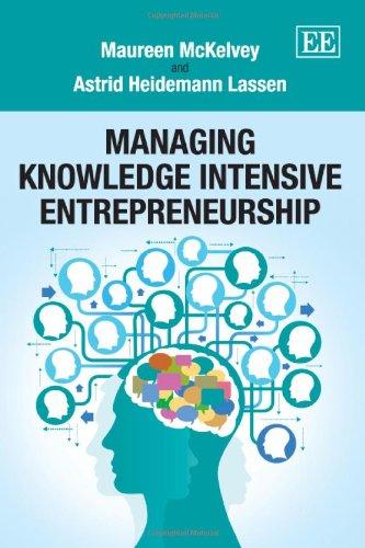 9781781005514: Managing Knowledge Intensive Entrepreneurship