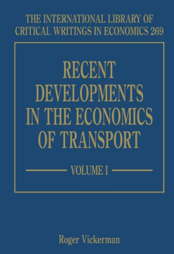 Recent Developments in the Economics of Transport (Hardback)