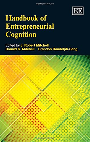 9781781006580: Handbook of Entrepreneurial Cognition (Elgar Original Reference)