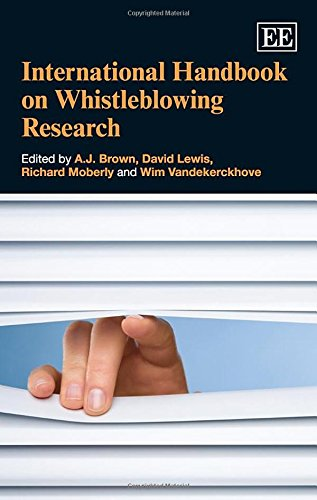 International Handbook on Whistleblowing Research (Hardback)