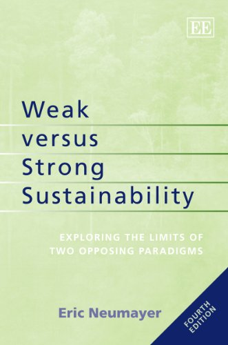 9781781007099: Weak Versus Strong Sustainability: Exploring the Limits of Two Opposing Paradigms, Fourth Edition