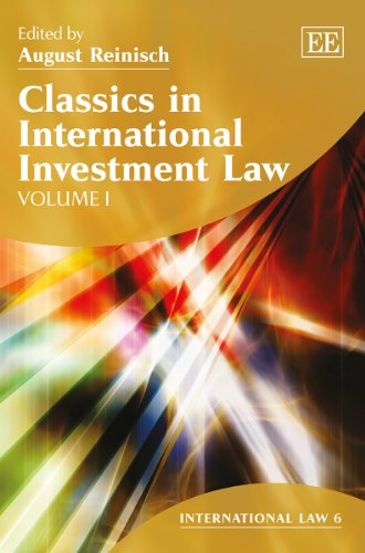 Classics in International Investment Law (Hardback)