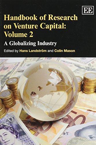 9781781009048: Handbook of Research on Venture Capital, Volume 2: A Globalizing Industry (Handbooks in Venture Capital series)