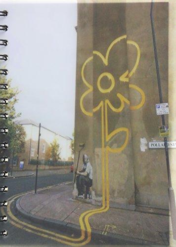 9781781035115: Bansky Yellow Flower A5 Notebook