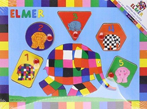 9781781036297: Elmer Peg Puzzle
