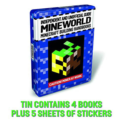 9781781066805: Minecraft Tin of Books (2018)