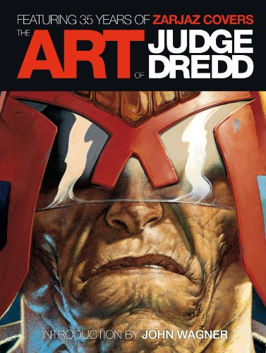 9781781080443: The Art of Judge Dredd: Featuring 35 Years of Zarjaz Covers