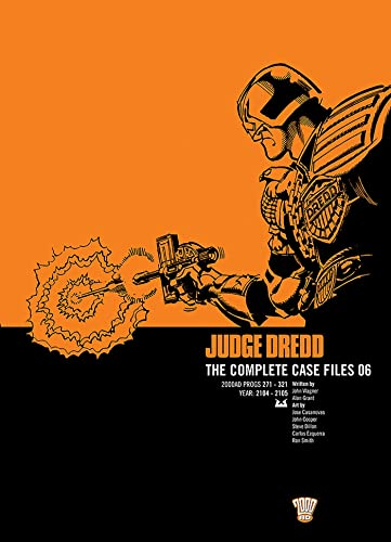 9781781081341: Judge Dredd: The Complete Case Files 06