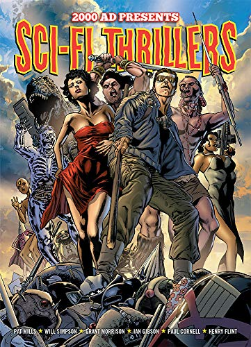9781781081778: 2000 AD Presents Sci-fi Thrillers