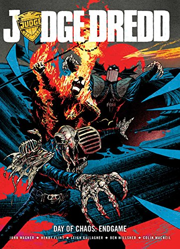 9781781083857: Judge Dredd Day of Chaos: Endgame