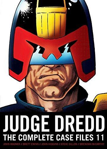 Judge Dredd The Complete Case Files 11: Wagner, John/ Grant,