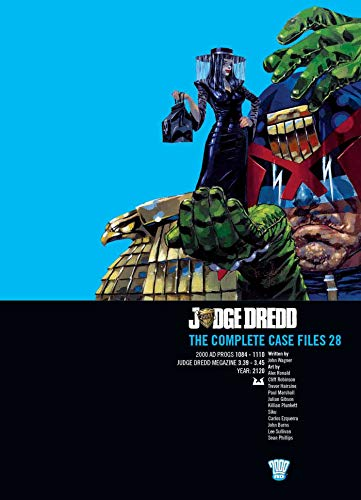 9781781084335: Judge Dredd: The Complete Case Files 28